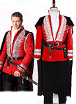 Once Upon a Time Príncipe Charming Uniforme Traje Cosplay Disfraz