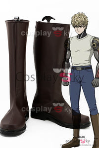 One Punch Man Demon Cyborg Genos Cosplay Zapatos