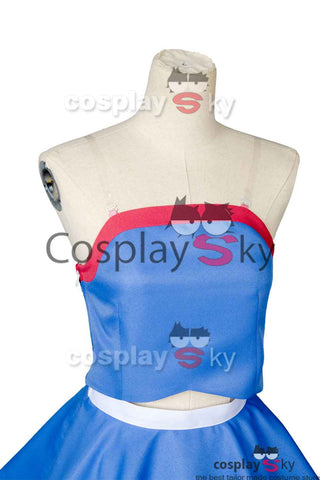 Overwatch D.VA DVA Hana Song Sailor Uniforme Cosplay Disfraz