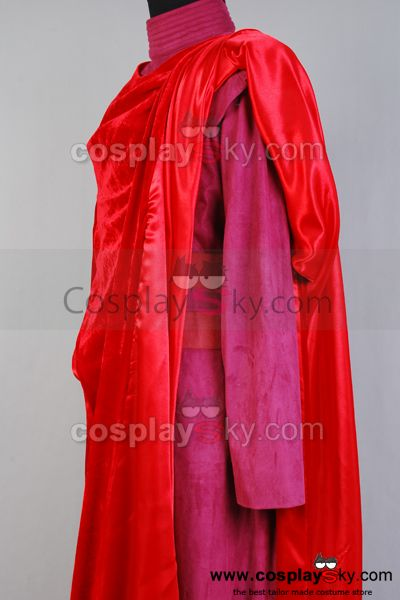 Star Wars Guardia Real Cosplay Disfraz Rojo
