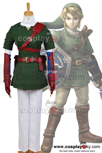 The Legend of Zelda Link Traje Cosplay Disfraz Nuevo