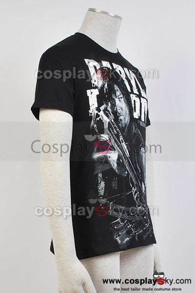 The Walking Dead Daryl Dixon Camiseta Negra