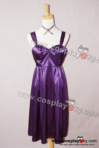 Twilight New Moon Alice Purple Birthday Dress Costume