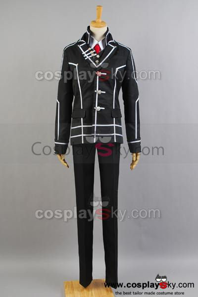 Vampire Knight Zero Kiryuu Black Cosplay Costume