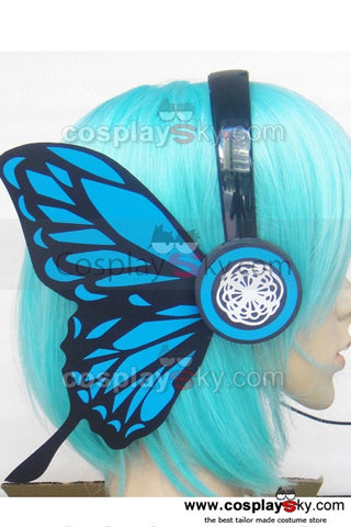 Vocaloid Butterfly Miku Ruka Headwear Cosplay Accessories