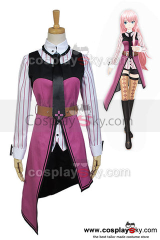 Vocaloid Project DIVA-F 2nd LUKA Cosplay Costume