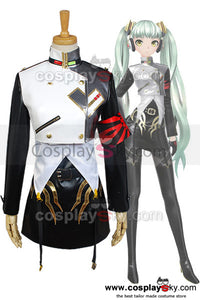 Vocaloid Project DIVA-f Miku Agitation Cosplay Costume