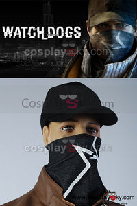 Watch Dogs Aiden Pearce Gorro y Máscara Cosplay