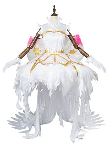 Cardcaptor Sakura:Clear Card Sakura Kinomoto Snow Angel Dress Cosplay disfraz