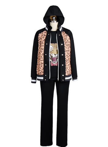 Yuri on Ice Yuri Plisetsky Tiger Head Traje Cosplay Disfraz