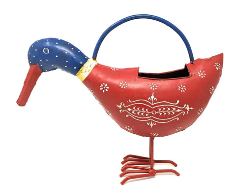 Image of Fun Animal Metal Watering Cans for Outdoor/Indoor Use - Decorative and Functional - Farmhouse World
