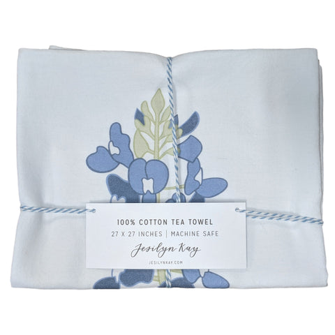 Image of Texas Bluebonnet Kitchen Towel