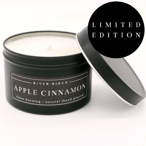 Apple Cinnamon Soy Candle 8oz - 100% Soy Wax - Hand Poured - Farmhouse World