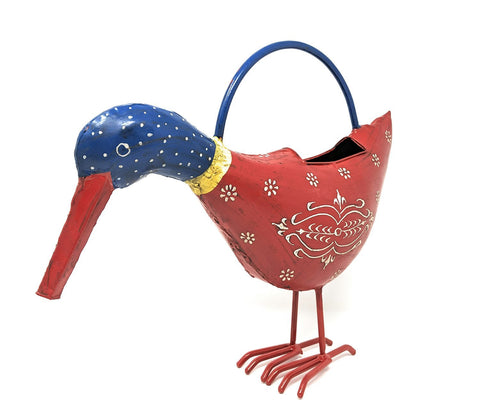 Image of Bandana Duck Metal Watering Can - Decroative & Functional - Farmhouse World
