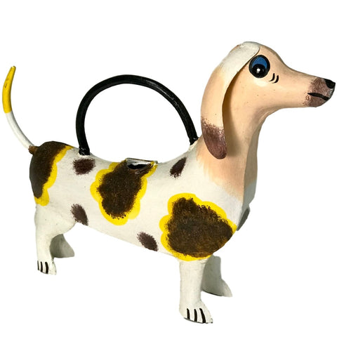Dachshund / Wiener Dog Watering Can - Fun Metal Weiner Dog Design - Farmhouse World