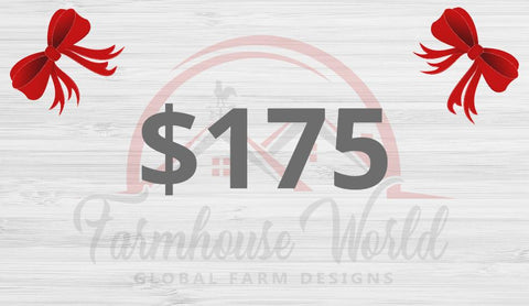 Image of Gift Card for FarmhouseWorld.com - Farmhouse World
