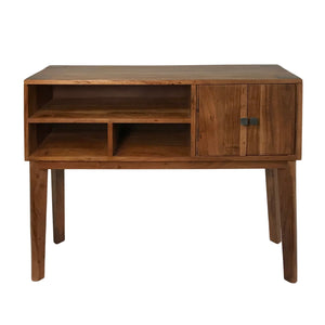 Mid-Century Console/Buffet Table in Farmhouse Style Made from Solid Acacia Wood for Home and Office - Farmhouse World