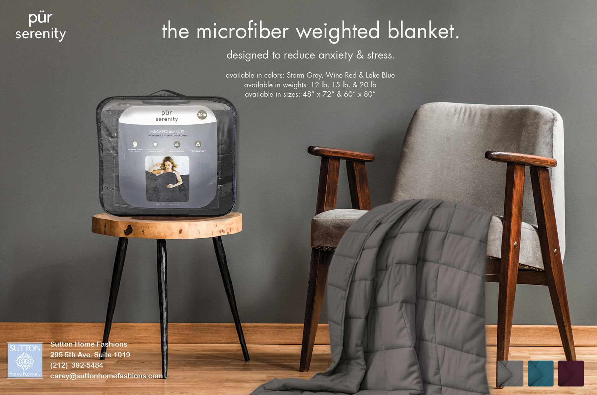 Micro Fiber Weighted Blanket