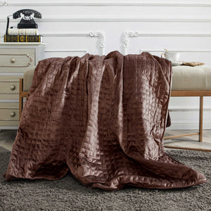 15 lbs Microfiber Weighted Blanket with Duvet Cover