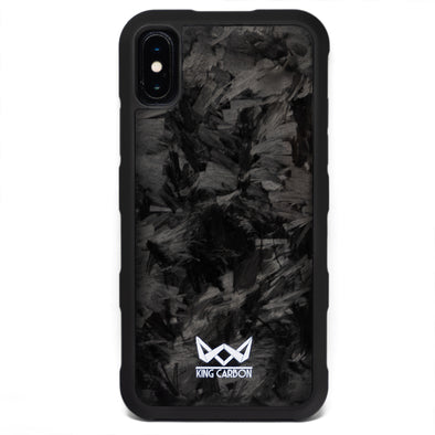 King Carbon Genuine Forged Carbon Fiber iPhone Case