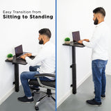 Sit Stand Laptop Wall Mounted Desk | MI-7989