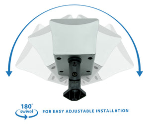 Mount-It! Universal Speaker Mounts for Walls & Ceilings - (6pcs) - Black - MI-SB206 - Mount-It!