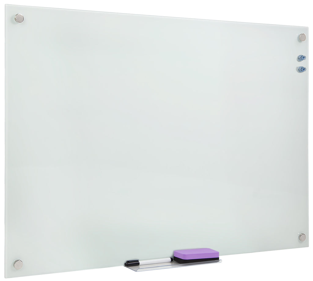 Mount-It! Wall Mounted Dry Erase Board 36x24 Inches - MI-10703