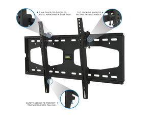Mount-It! TV Wall Mount w/Universal Tilt - MI-1131L