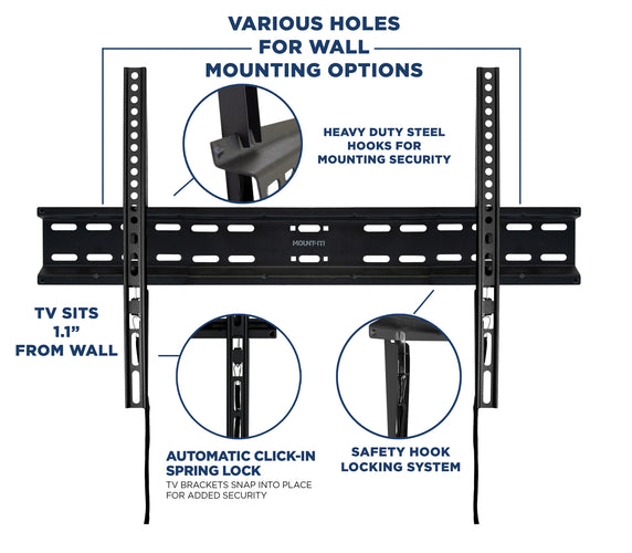 Fixed TV Wall Mount | MI-13050XL 2