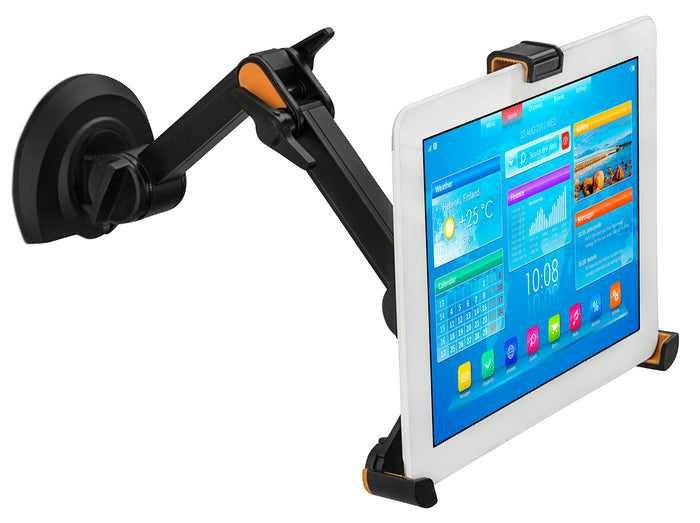 Universal Tablet Holder with Swinging Arm Mount, Fits Tablets with 9 to 11 Inch Screens - MI-1401