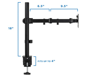 Mount-It! Universal Single Monitor Desk Mount - MI-2751 - Mount-It!