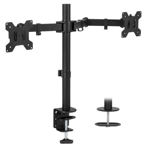 Full Motion Dual Monitor Desk Mount | MI-2752