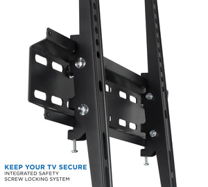Mount-It! Low Profile TV Wall Mount Tilt Bracket for Flat Screens-MI-3030 - Mount-It!