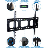 Heavy-Duty Tilting & Locking Low Profile TV Wall Mount | MI-303B