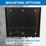 Low Profile Fixed TV Wall Mount | MI-306