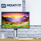 Height Adjustable & Articulating Single Monitor Desk Mount | MI-31111