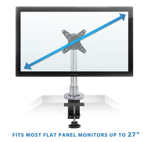 Mount-It! Compact Single Monitor Desk Mount - MI-31116 - Mount-It!