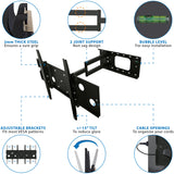 Heavy Duty Articulating TV Wall Mount w/ Long Extension | MI-319B