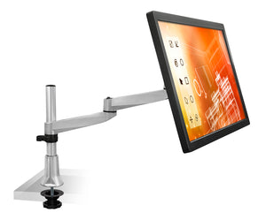 Mount-It! Articulating Single Dual-Segment Monitor Desk Mount - MI-33111 - Mount-It!