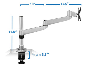 Mount-It! Professional Single Monitor Desk Mount - MI-33116 - Mount-It!