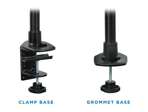 Mount-It! Spring Arm Dual-Segmented Single Monitor Mount - MI-35116-BLK - Mount-It!