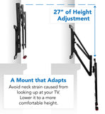 Mount-It! Pull-Down Full Motion TV Wall Mount - MI-361 - Mount-It!