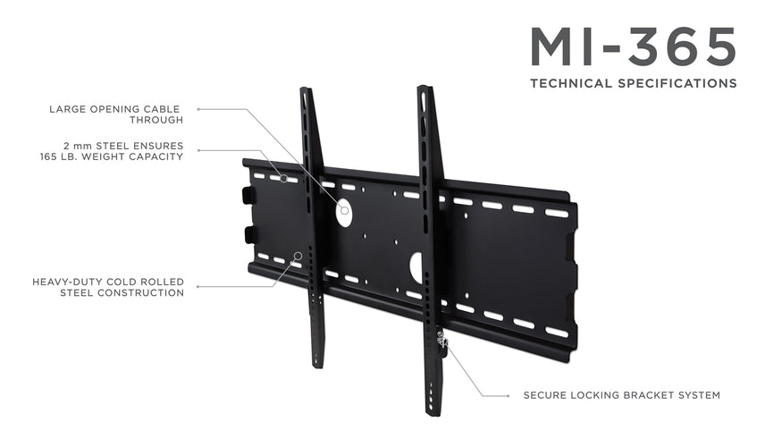 Fixed TV Mount Bracket | 37