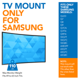 No-Gap Tilting TV Wall Mount | MI-366