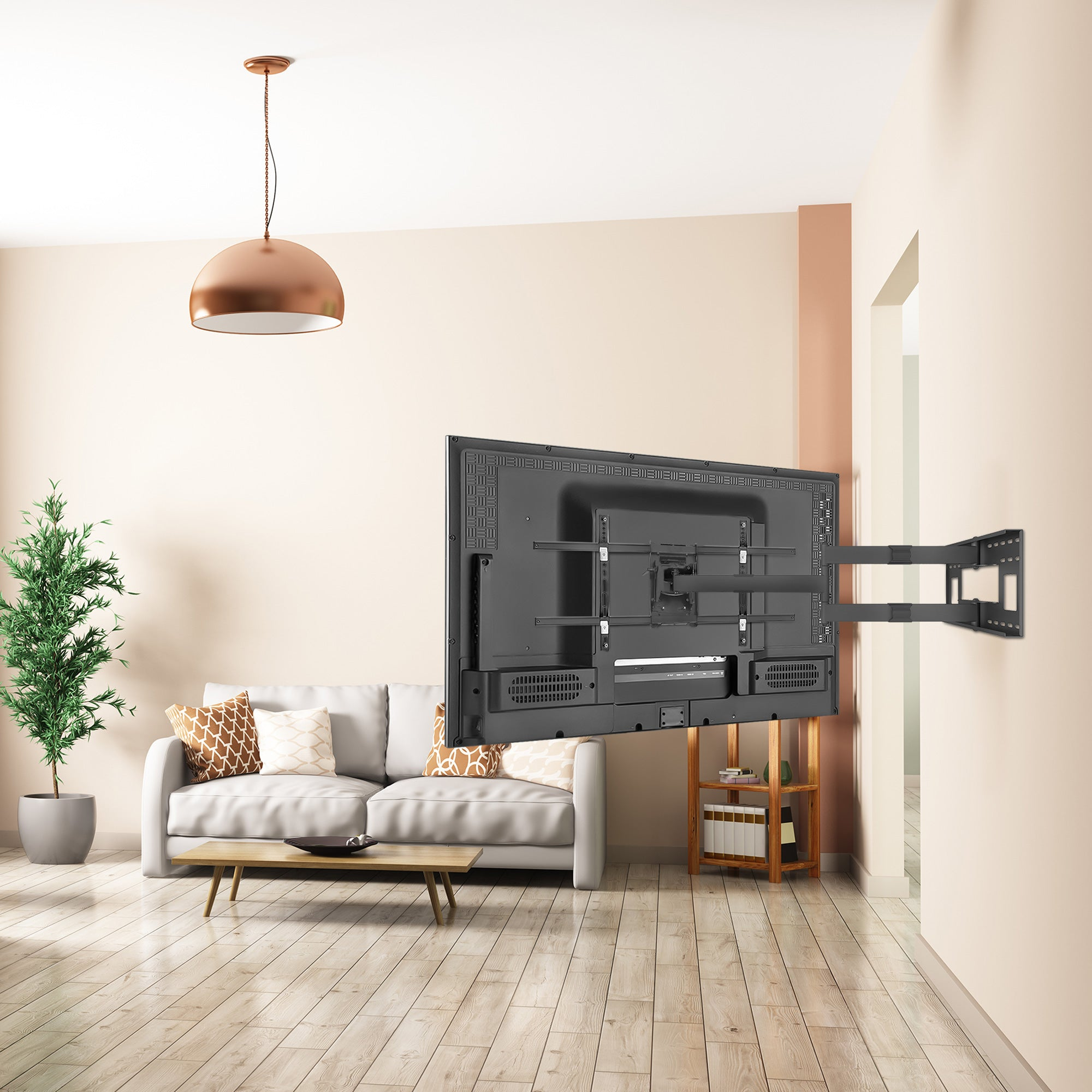 Articulating Tv Wall Mount With Extra Long Extension Mi 372 Mount It