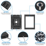 Large Secure iPad Pro 12.9 Wall Mount Enclosure for 3rd/4th Generation | MI-3772-XL3