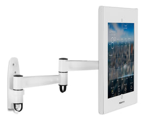 Large Secure iPad Pro Wall Mount Enclosure w/ Swing Arm | MI-3774-XL