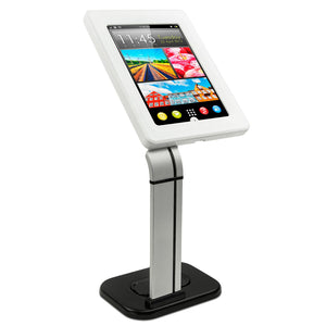Secure iPad Enclosure Counter-top Kiosk, Fits iPad 9.7 and 10.1 Tablets | MI-3781