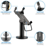 Credit Card POS Terminal Stand for VeriFone VX520 | MI-3793