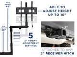 Tailgate TV Hitch Mount | MI-380
